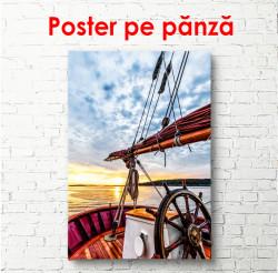 Poster, Podul frumos cu vedere la mare