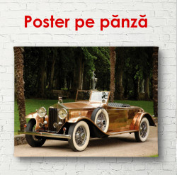 Poster, Rolls-Royce auriu
