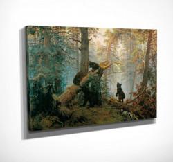 Poster, Urși în pădure