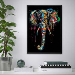 Tablou, Elefant abstract
