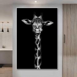 Tablou, Girafa