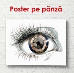 Poster, Ceas în formă de ochi