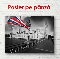 Poster, Dimineața în Londra
