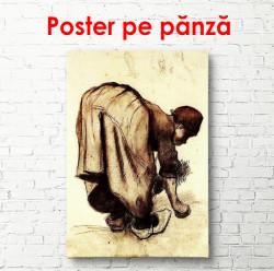 Poster, Femeile recoltează