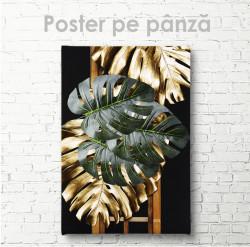 Poster, Frunze aurii si verzi