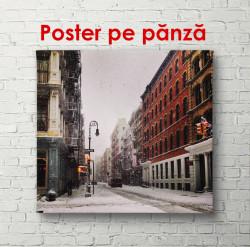 Poster, Iarna în New York