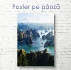 Poster, Marea și stâncile