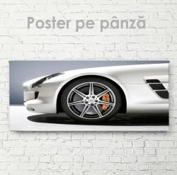 Poster, Mercedes sur