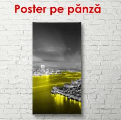 Poster, Oraș în noapte