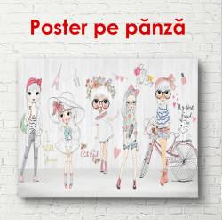 Poster,Păpuși desenate