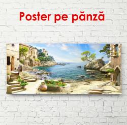 Poster, Peisaj de vară cu vedere la mare