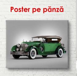 Poster, Rolls-Royce verde