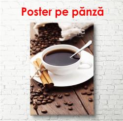 Poster, Scorțișoară și cafea