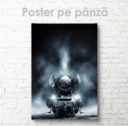 Poster, Tren în ceață