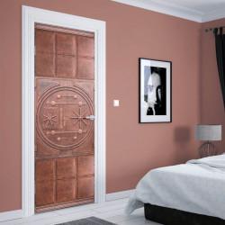 Stickere 3D pentru uși, Ușa din granit, 1 foaie de 80 x 200 cm