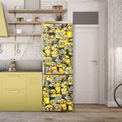 Stickerele decorative, pentru uși, Minioni, 1 foaie de 80 x 200 cm
