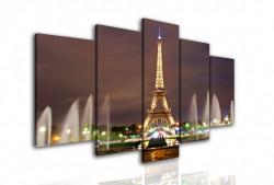Tablou modular, Parisul în noapte.