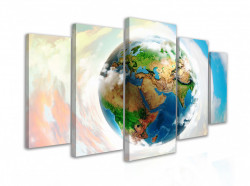 Tablou modular, Planeta Pământ
