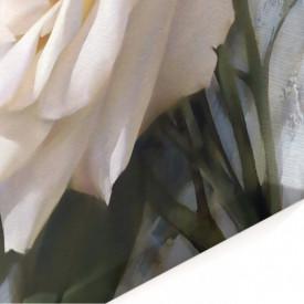 Tablou modular, Un buchet de trandafiri albi.