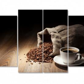 Tablou modular, Un săculeț de cafea.