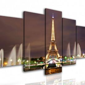 Multicanvas, Parisul de noapte.