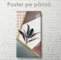 Poster, Abstracție botanică
