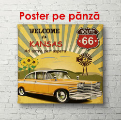 Poster, Bine ați venit în Kansas