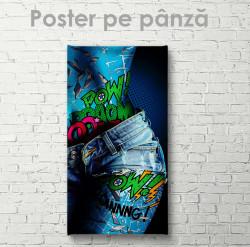 Poster, Blugi rupți
