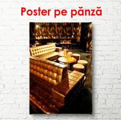 Poster, Canapele aurii