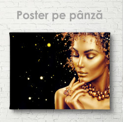 Poster, Doamna aurie 2