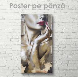 Poster, Domnișoară stilată