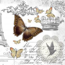Poster, Fluture maro