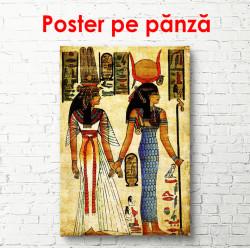 Poster, Povestea egipteană a vieții faraonilor