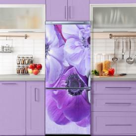 Stickere 3D pentru uși, Flori minunate, 1 foaie de 80 x 200 cm