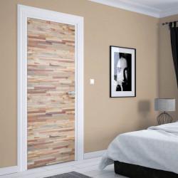Stickere 3D pentru uși, Frumusețea lemnului, 1 foaie de 80 x 200 cm
