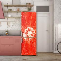 Stickere 3D pentru uși, Grapefruit, 1 foaie de 80 x 200 cm