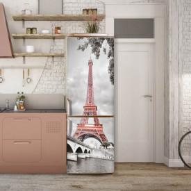 Stickere 3D pentru uși, Turnul Eiffel , 1 foaie de 80 x 200 cm