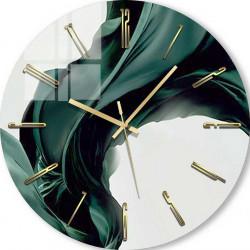 Ceas de perete, Mătase verde