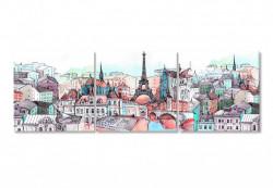 Multicanvas, Parisul în culori