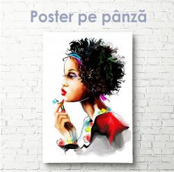 Poster, Africancă