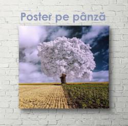 Poster, Arborele mov în câmpul de grâu