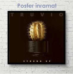 Poster, Cactus auriu