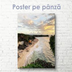 Poster, De-a lungul plajei