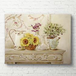 Poster, Floarea-soarelui galben