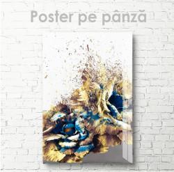 Poster, Florile se împrăștie în vânt