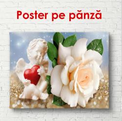 Poster, Îngerul de lângă trandafir