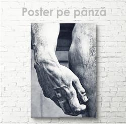 Poster, Mână