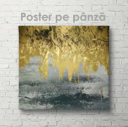 Poster, Metal sur-auriu