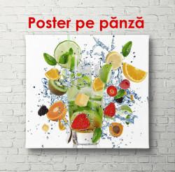Poster, Paharul cu fructe