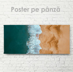 Poster, Plajă și valuri